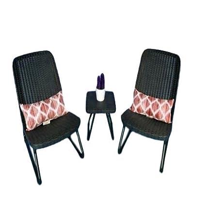 Amazon.com: Juego de sillas exteriores GT para porche ...