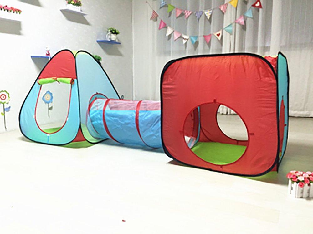 NAUY- Set von 3 Spielzeug & Spielen Kinder spielen Zelt Spiel Playhouse Kinderspielzeug Spiel Haus Indoor und Outdoor Kinderspielzelt