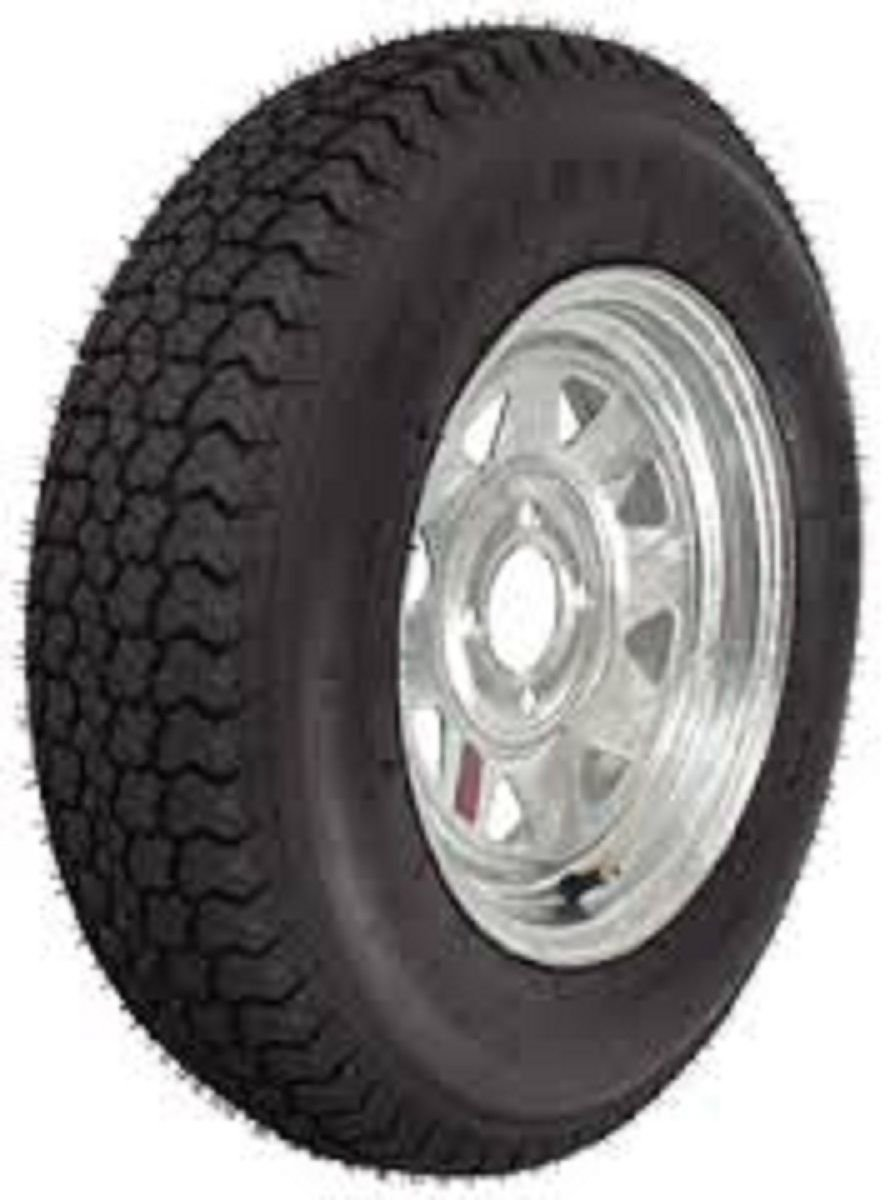 NEW LOADSTAR TIRES ST185/80D13 D/5H SPOKE GALV TIR 3S334