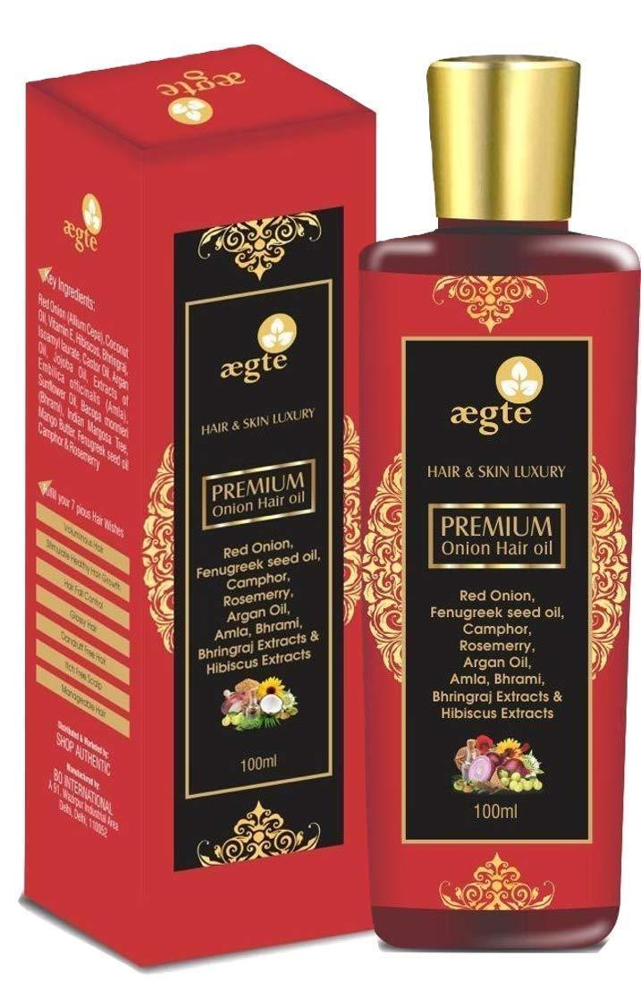 Aegte Onion Hair Oil 100ml Pack of 2