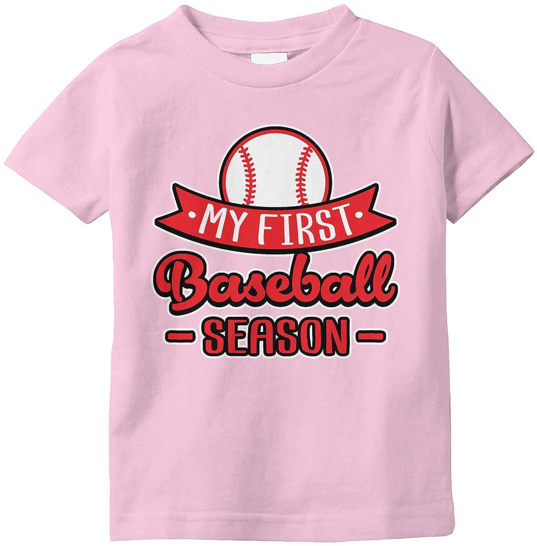 Amdesco My First Baseball Season Infant T-Shirt
