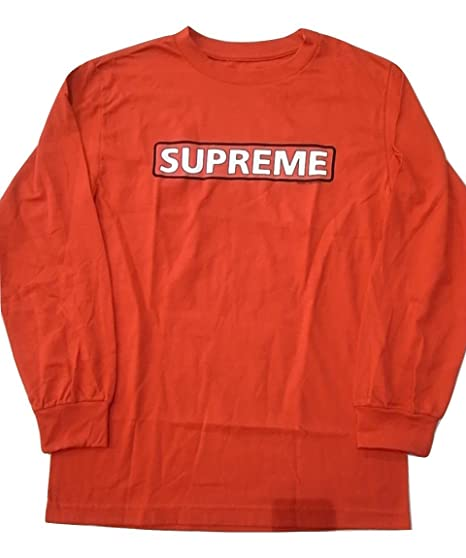 527fa631b32d Powell-Peralta Skateboard Long Sleeve Shirt Supreme Red Size S. Roll over  image to ...