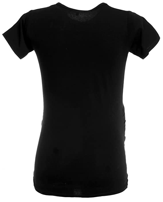 d3322ee9bb14f Women's Maternity Halloween Baby Skeleton Print Top T-Shirt. 085p:  Amazon.co.uk: Clothing