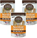 Earth Animal No-Hide Chicken Chew 7 Inches - 6 Total(3 Packs with 2 per pack)