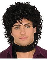 Forum Novelties Rock Royalty Adult Wig (Black)-