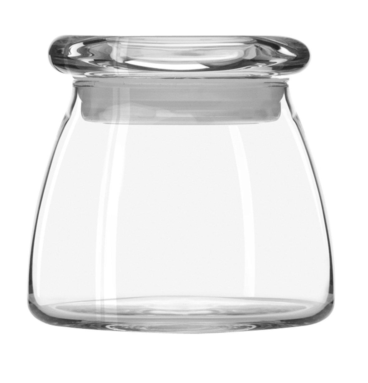 Libbey 12-1/2-Ounce Vibe Storage Jars, Set of 6