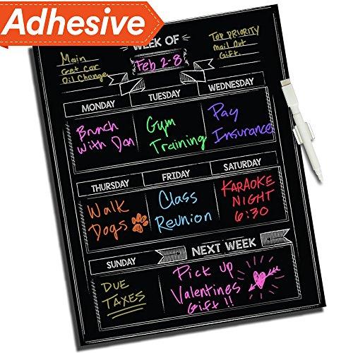 Dry Erase Chalkboard Wall Calendar