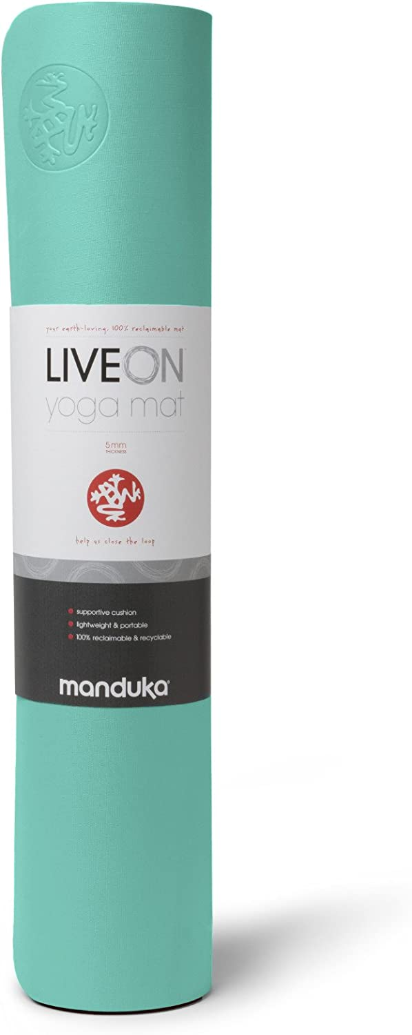 Amazon.com : Manduka Live On Yoga and Pilates Mat, Rational ...