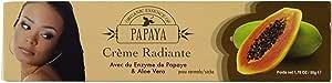 Papaya Brightening Cream 50g - Formulated to Improve Clarity and Skin Radiance, Alpha Arbutin and Aloe Vera