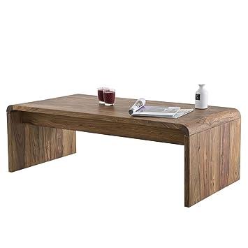kare authentico table basse design en bois massif sheesham massif 120 cm largeur