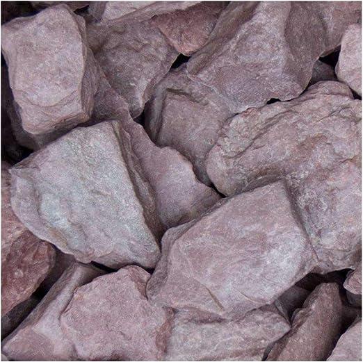 Canadian Slate púrpura, plano gravilla con color morado, decorativo Grava para el jardín, 30 – 60 mm, saco de 20 kg, piedras, splitt Ornamentales: Amazon.es: Jardín
