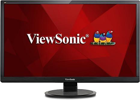 """Viewsonic va2419-sh 24"""" 1080p home and office monitor viewsonic pk."""