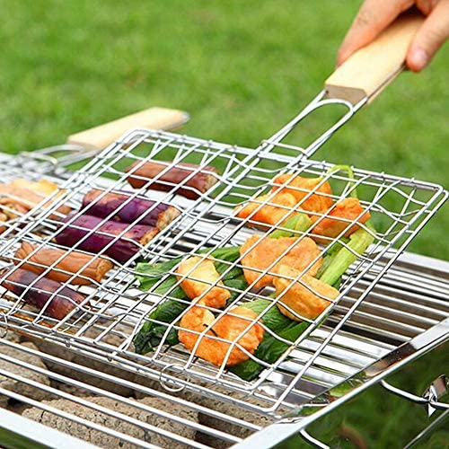 Yagoal Grille Barbecue Rectangulaire Grille De Barbecue Barbecue Grill Racks Barbecue Grill Tapis Non Bâton Barbecue Grill Tapis Barbecue Griller Tapis