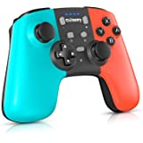 Gamory Wireless Controller for Nintendo Switch/Switch Lite, Supporting Motion Control, Dual Vibration & Turbo Function…