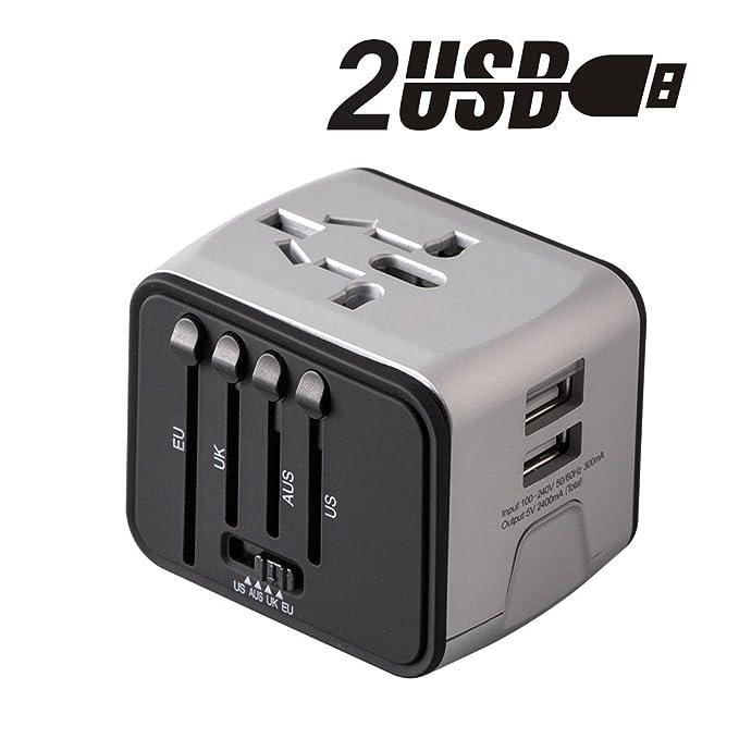 93 opinioni per 2 USB 3.0 Adattatore multipresa adatto uso domestico e campeggio compatibile con