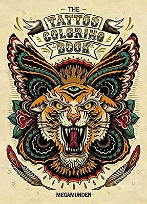 The Tattoo Colouring Book: Amazon.es: Megamunden: Libros en ...