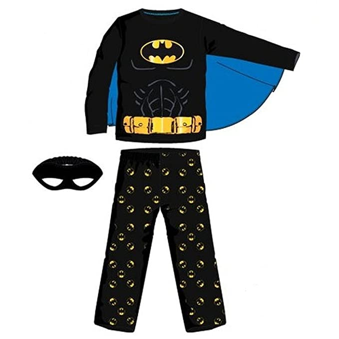 Pijama largo, diseño de Batman multicolor 8 años