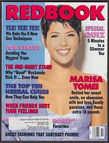 REDBOOK Marisa Tomei; Herbal cures; avoiding stress, etc. 11 1994