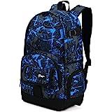 School Backpack, Ricky-H Lifestyle Travel Bag for Men & Women, Lightweight College
