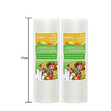 ATWFS Envases para alimentos bolsas de plástico para envasar ...