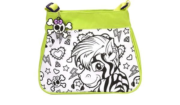 Wild Republic - Fashion Bag DIY Kit, diseño Cebra/león ...