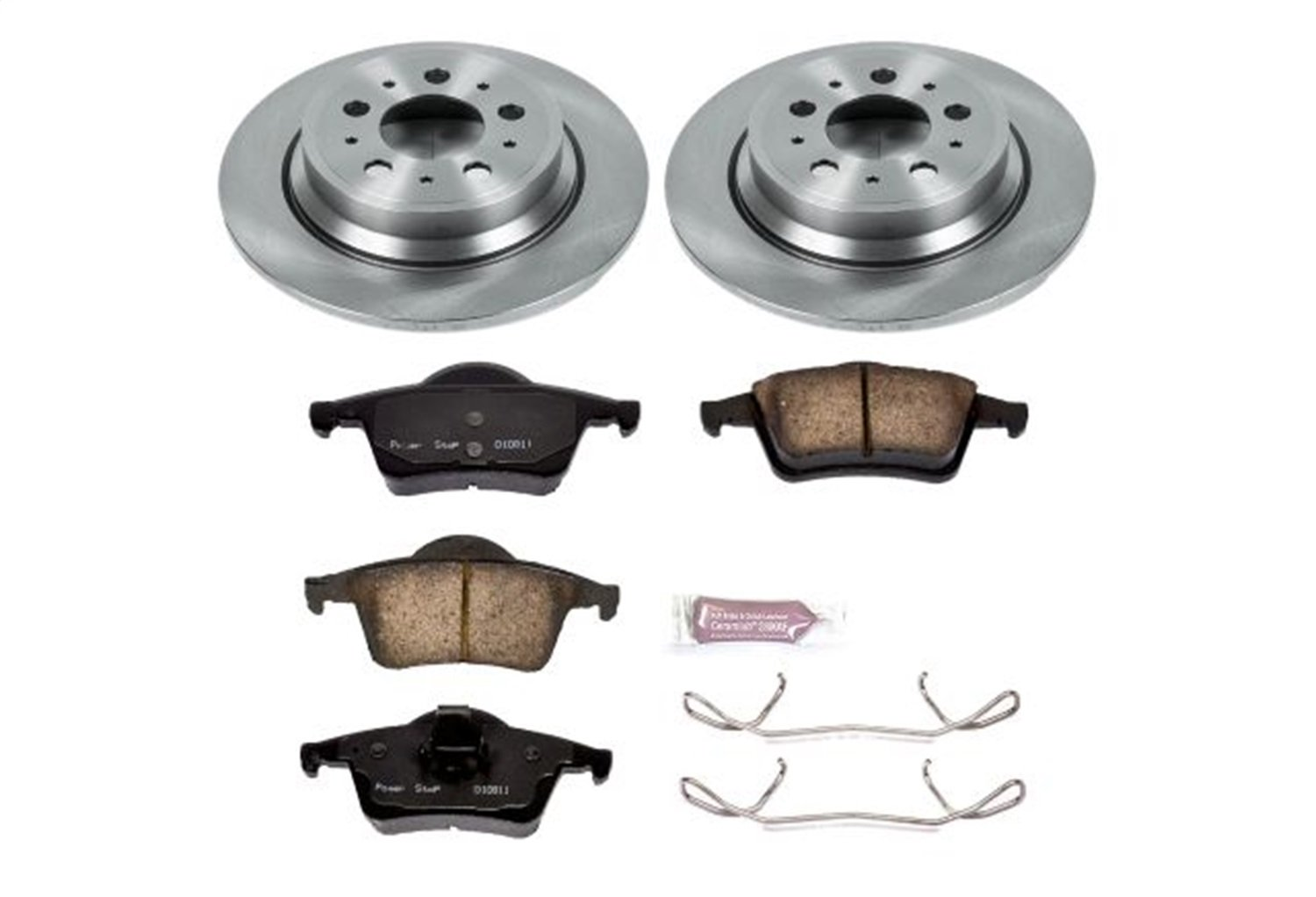 Autospecialty KOE5196 1-Click OE Replacement Brake Kit