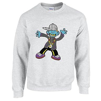 Sweatshirt Junge Cartoon Charakter Comic Comic Figuren Tanz