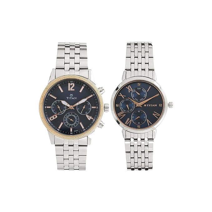 Modern Bandhan Analog Blue Dial Unisex Watch-17342569KM01