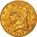 1827 P $5 Early Gold (1795-1838) Five Dollar MS63 PCGS