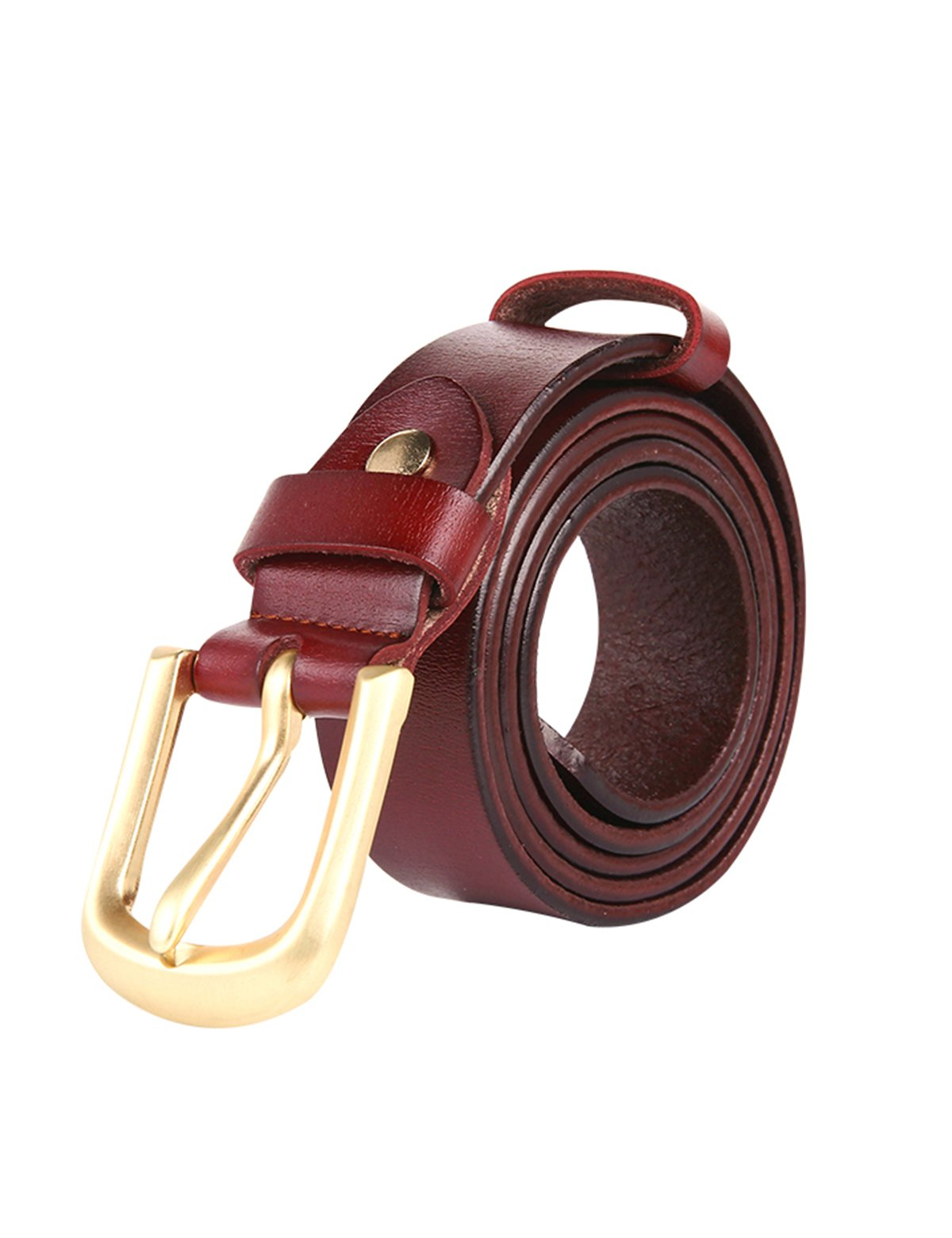 ELPA Children's Belt Casual Fashion Leather Pin Buckle Belt