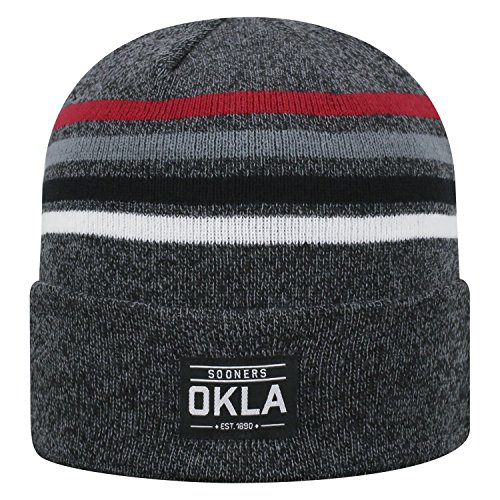 Top of the World Oklahoma Sooners Official NCAA Cuffed Knit Upland Stocking Stretch Sock Hat Cap Beanie 465197