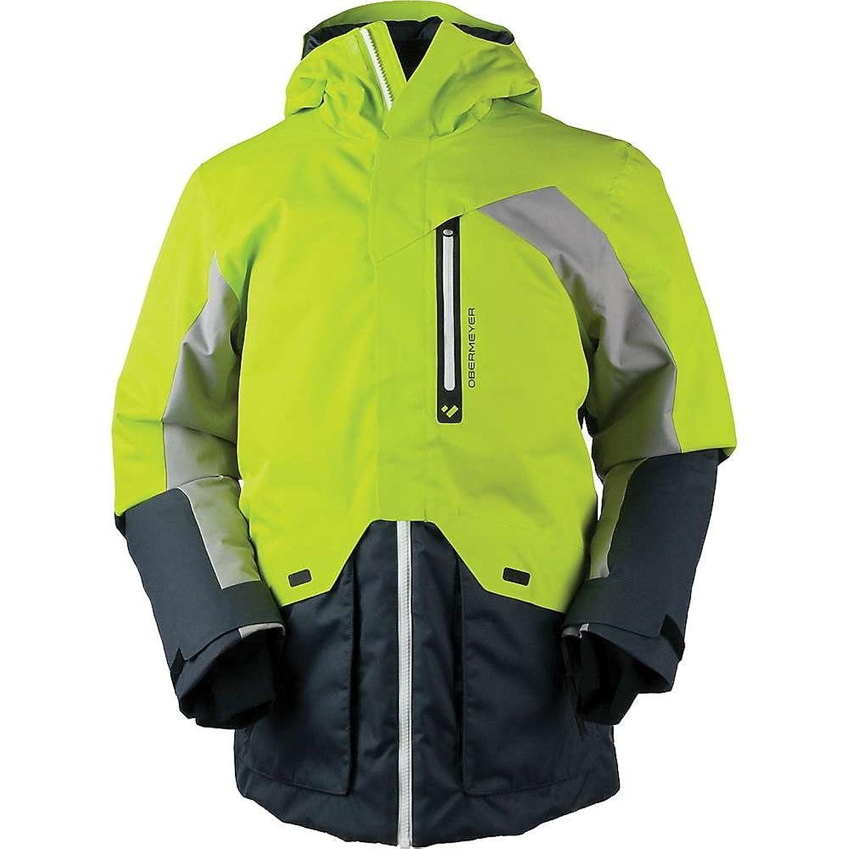 オバマイヤー アウター ジャケットブルゾン Obermeyer Men's Freeform Jacket Green Flas [並行輸入品] B079P2C56L  SmallRegular