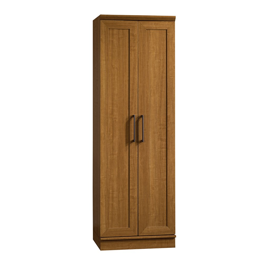 Sauder HomePlus Basic Storage Cabinet, Sienna Oak 411963