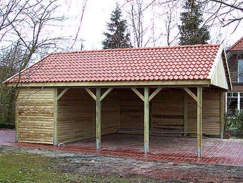 Carport Satteldach Hockenheim, Carport kaufen, Carport Holz, Carport kosten