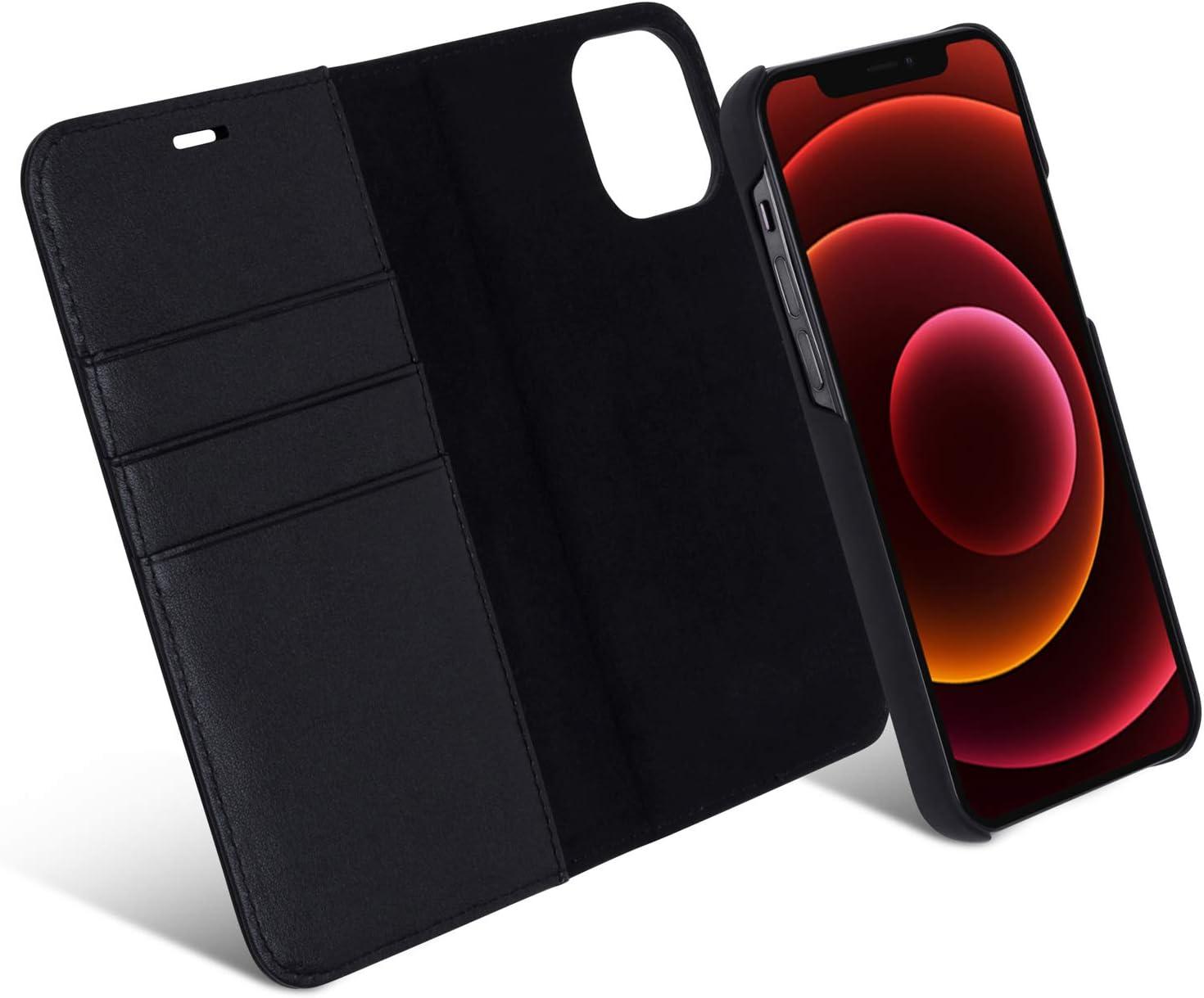 Iphone 12 Hülle Iphone 12 Pro Case Kunstleder 2 In 1 Elektronik