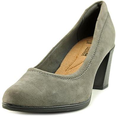 Grey Clarks Women'S Suede Araya Moon