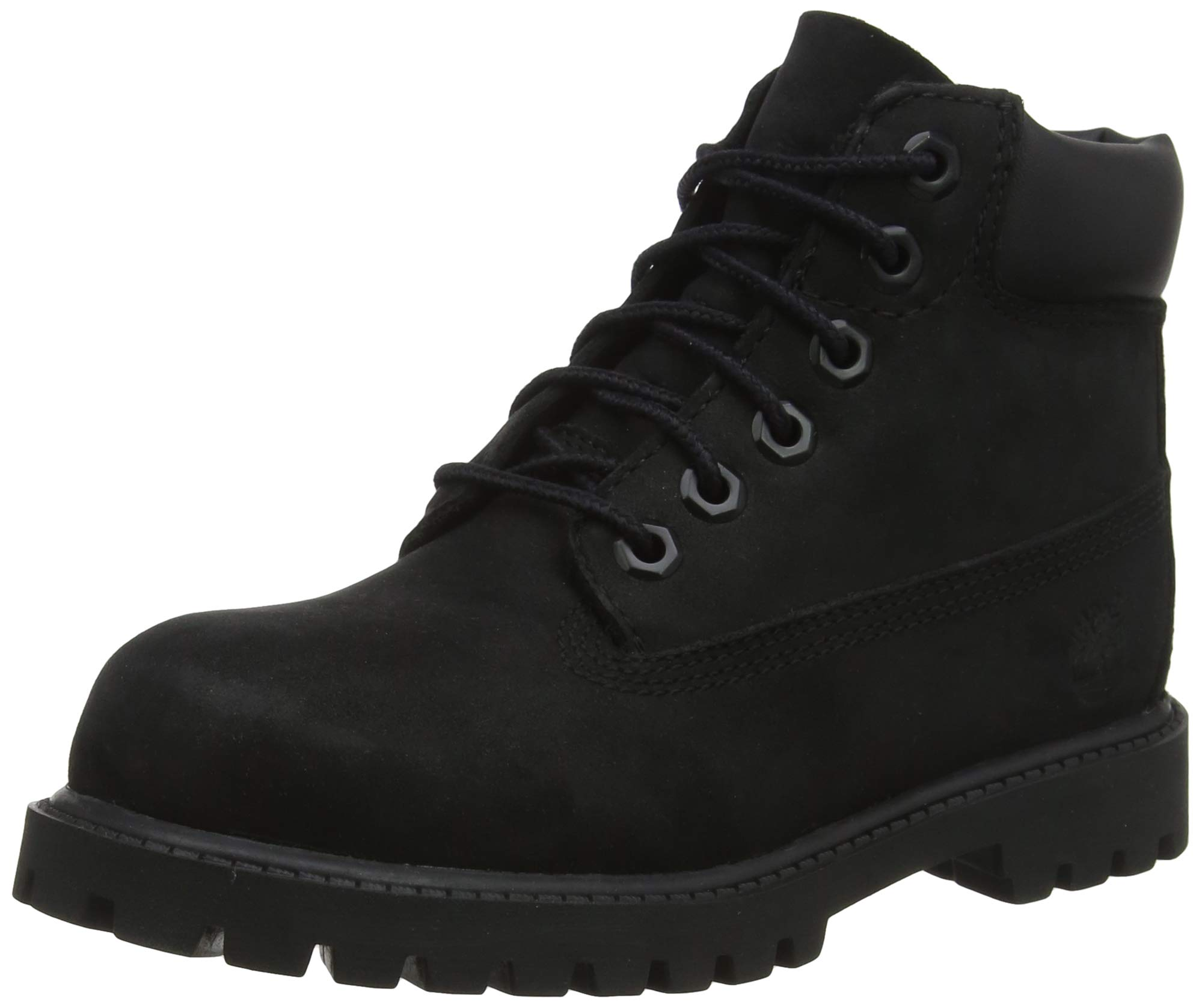 Timberland Baby 6'' Premium Waterproof Boot Core (Toddler/Little Kid), Black Nubuck, 6 W US by Timberland