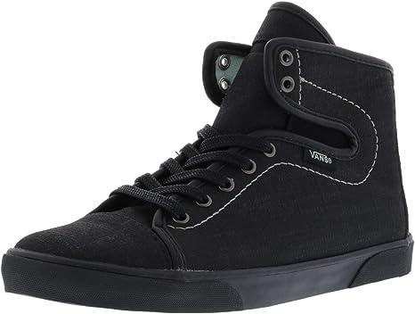 3bf2917f83 Vans Women s Hadley Xtuff Black Bay Ankle-High Skateboarding Shoe - 5M