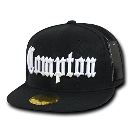 Amazon.com  Nothing Nowhere Old English City Compton Snapbacks ... 9cbc7e52c06