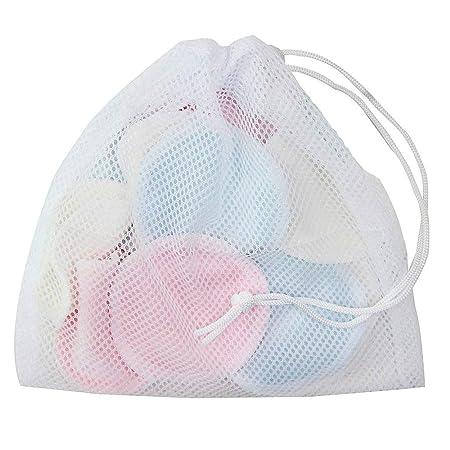 Amazon.com: Organic Cotton Rounds Natural Cloth Wipes 16 ...