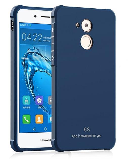selezione premium 0e242 5f4dd Huawei Nova Smart Custodia, GOGME Huawei Nova Smart morbido TPU Custodia  Cover Slim anti scivolo custodia protezione posteriore Cover antiurto per  ...