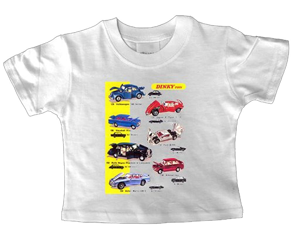 6-12 Months Dinky Toy Cars Baby T Shirt