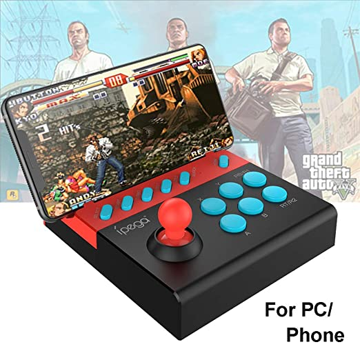 Fcostume PG-9136 Arcade Joystick - Controlador USB para teléfono y ...