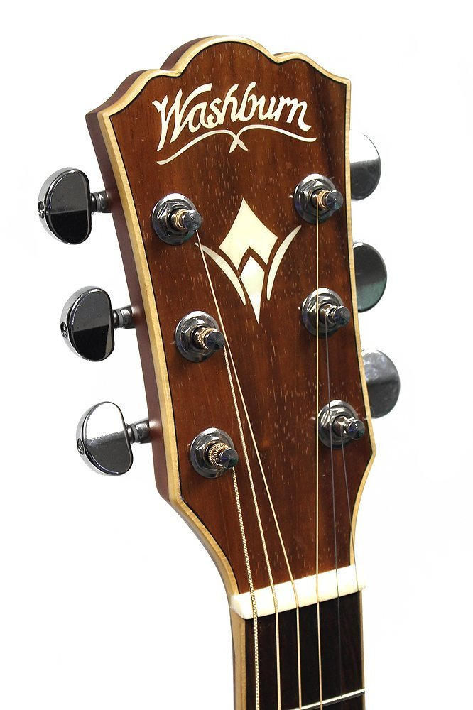Washburn Limited Run Southern Jumbo Guitar, Solid Spruce Top, WSJ50SKELITE by Washburn