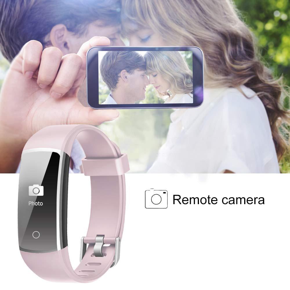 Sue/ño,Pod/ómetro,Pulsera Deporte para Android y iOS Tel/éfono m/óvil Blood Pressure YAMAY Pulsera de Actividad Inteligente Impermeable IP68 con 14 Modos de Deporte,Pulsera Inteligente con Puls/ómetro