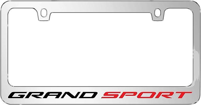 iPick Image for Chevrolet Corvette C7Real Carbon Fiber License Plate Frame