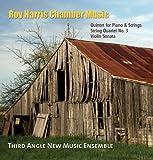 THIRD ANGLE NEW MUSI - HARRIS, ROY:  ROY HARRIS PIANO QUARTE