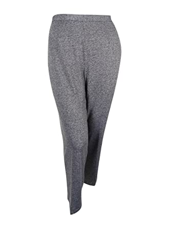 083fa1e149fb4 Image Unavailable. Image not available for. Color  Alfred Dunner Women s Plus  Size Acadia Pull-On Straight-Leg Pants (Grey