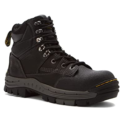 Dr. Martens Men's Isambard WP Black Boot 6 M UK, ...