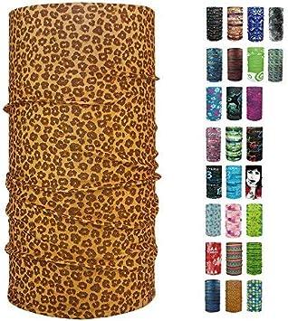 Halstuch in verschiedenen Designs erh/ältlich ebos Qualitatives Multifunktionstuch Bandana Kopftuch Snowboardtuch Multischal etc! Fashion Schlauchtuch Ideal als Motorradtuch